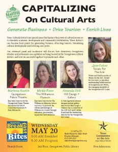 15-5-20 Breakfast Bites Flyer - Cultural Arts