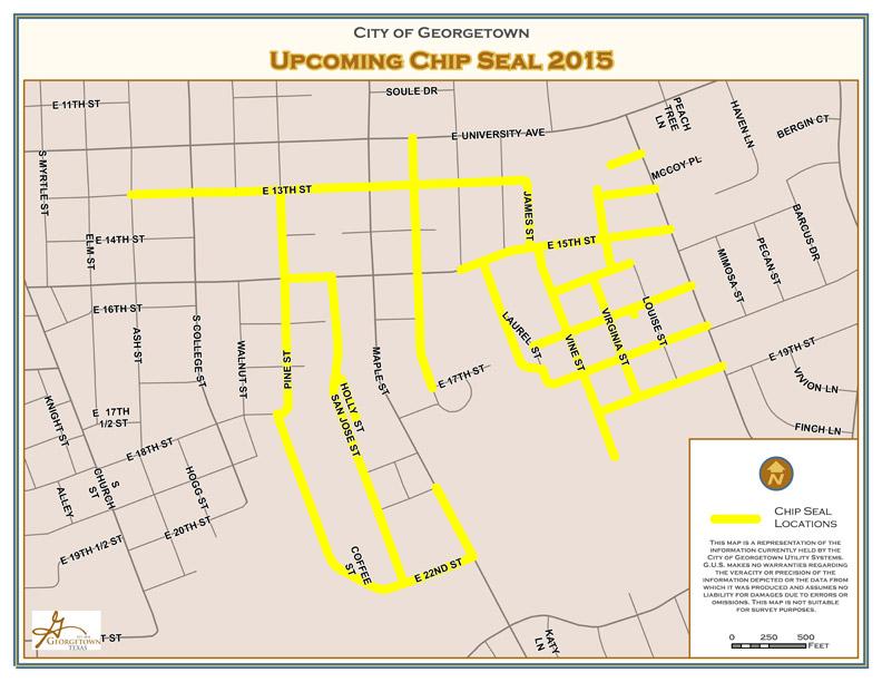 Street Resurfacing August 6 – 21