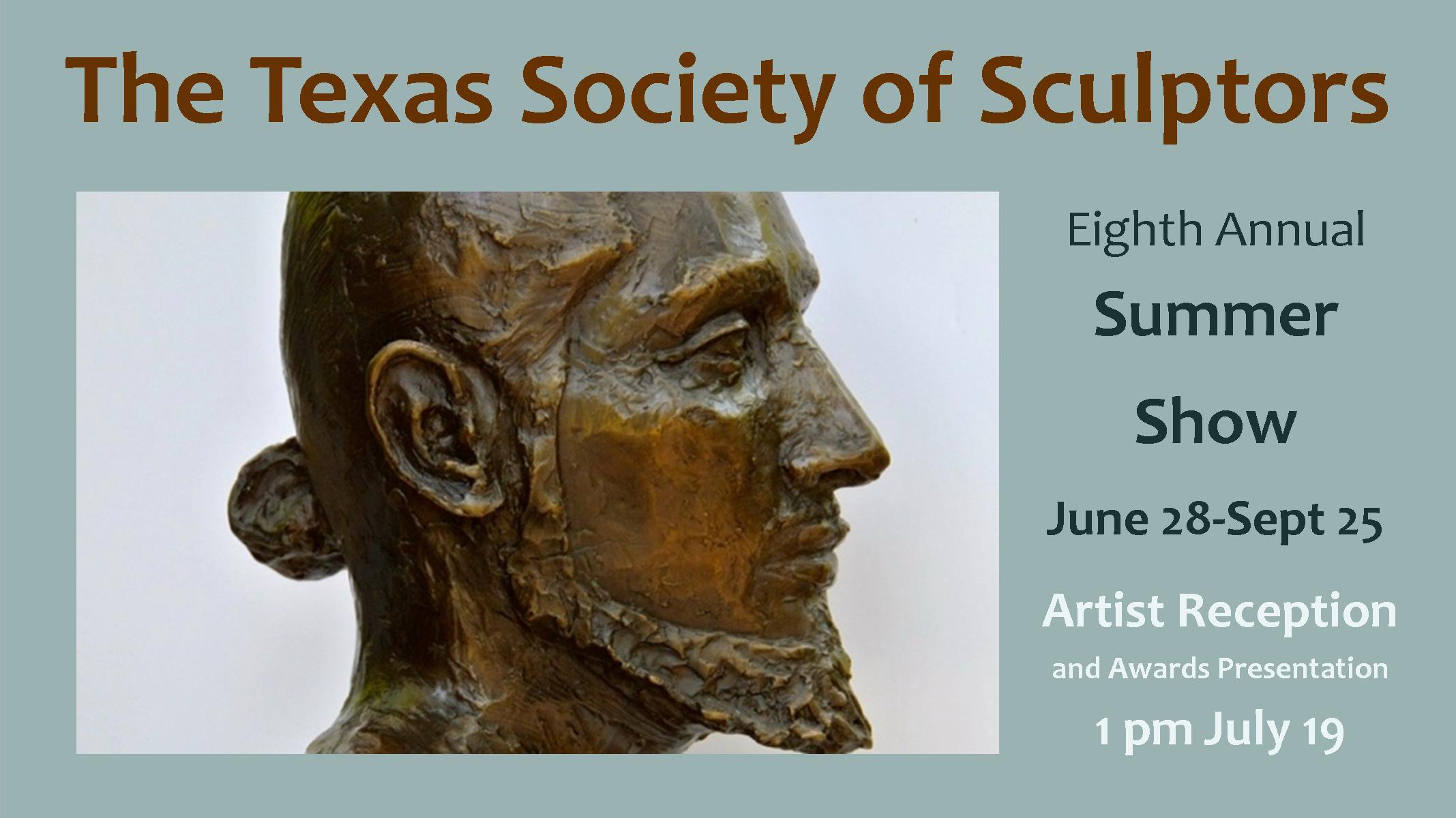 Awards Announced – Texas Society of Sculptors Exhibit
