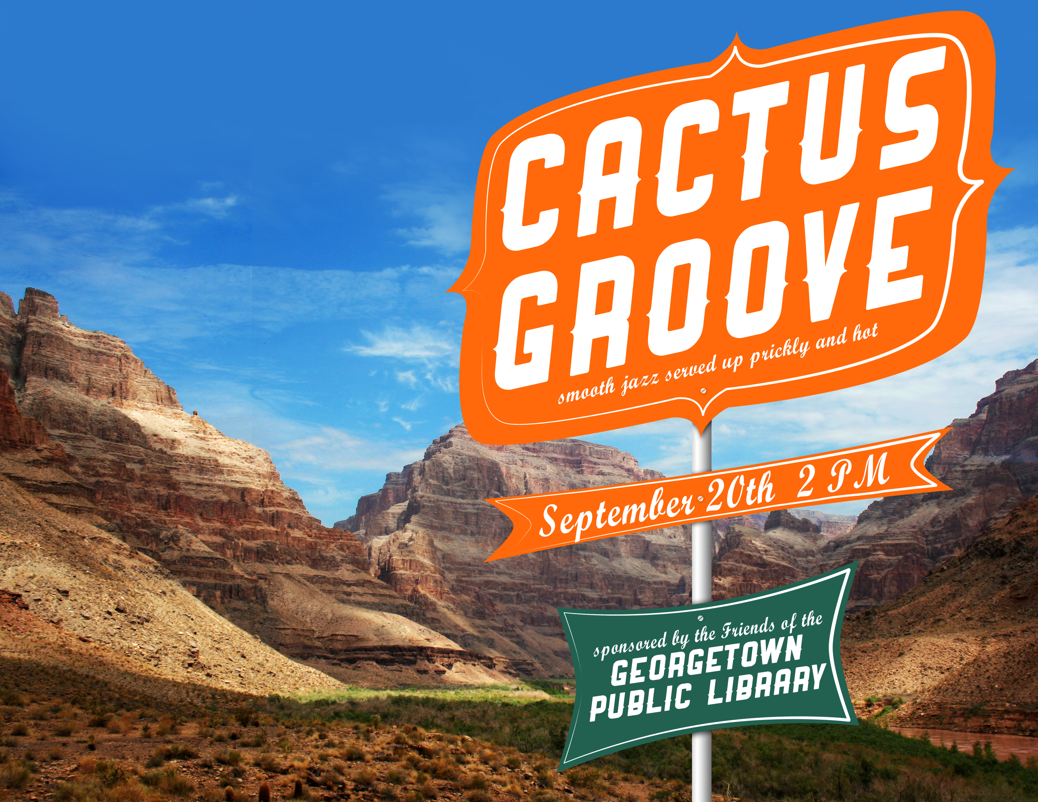 Cactus Groove: Smooth Jazz in the Library Sept. 20
