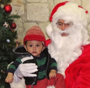 Santa and boy red hat 2 web