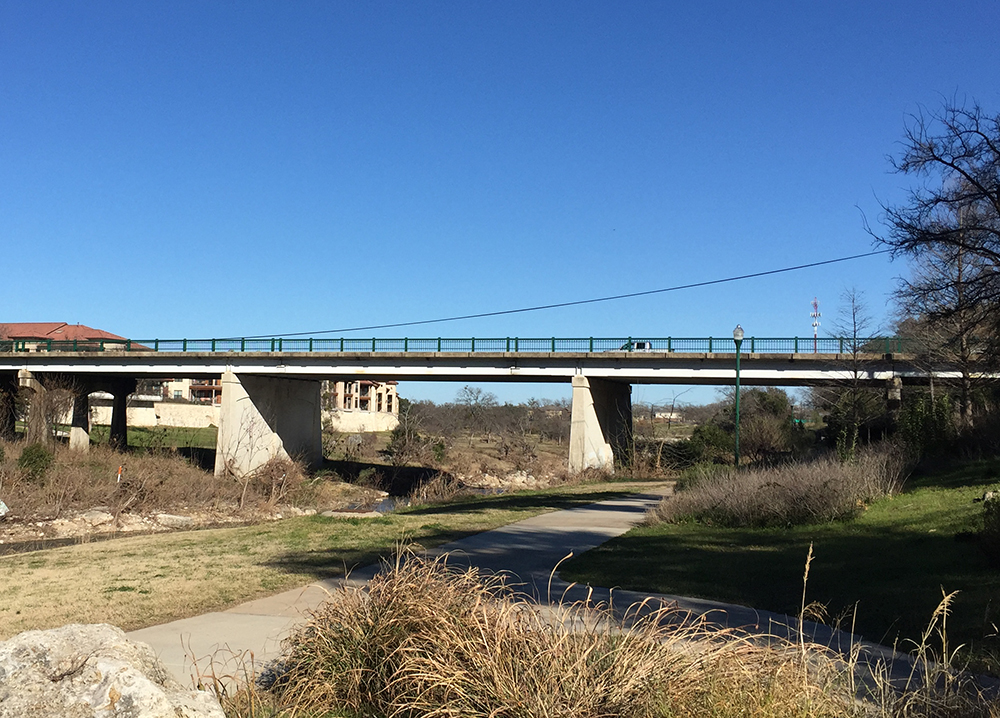 Austin Ave South Fork Bridge web