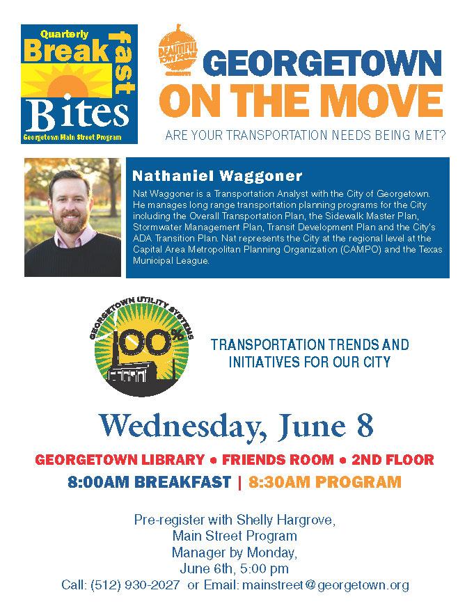 Breakfast Bites Transportation flyer 6-2-16