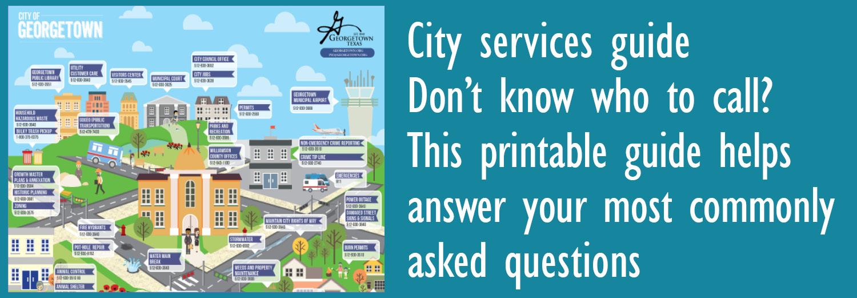 Guía de servicios de la ciudad