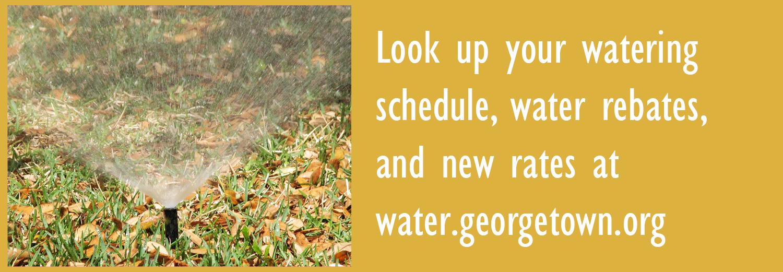 horario de agua, rebajas, tarifas